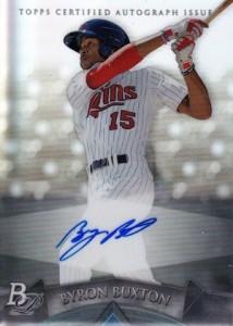2014 Bowman Platinum Baseball Prospect Autographs Byron Buxton