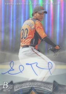 2014 Bowman Platinum Baseball Prospect Autographs Eduardo Rodriguez