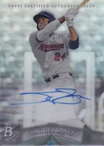 2014 Bowman Platinum Baseball Prospect Autographs Miguel Sano