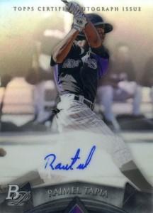 2014 Bowman Platinum Baseball Prospect Autographs Raimel Tapia