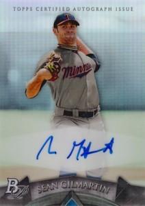 2014 Bowman Platinum Baseball Prospect Autographs Sean Gilmartin