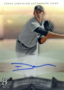 2014 Bowman Platinum Baseball Prospect Autographs Tyler Danish