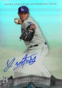 2014 Bowman Platinum Baseball Prospect Autographs Yimi Garcia
