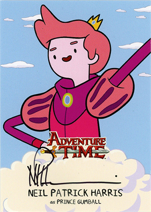 2014 Cryptozoic Adventure Time Autograph