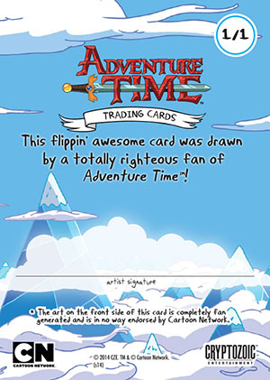 2014 Cryptozoic Adventure Time Trading Cards 27