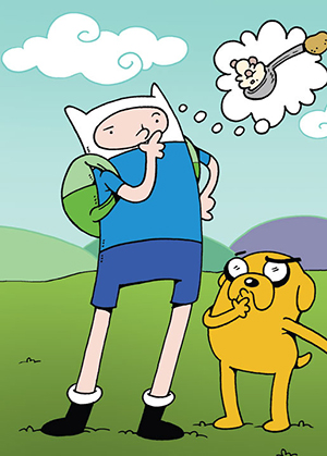 2014 Cryptozoic Adventure Time Trading Cards 25