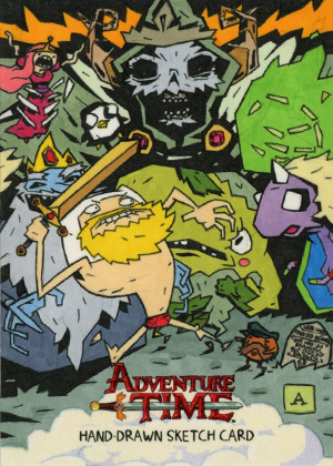 2014 Cryptozoic Adventure Time Trading Cards 26