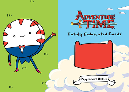 2014 Cryptozoic Adventure Time Totally Fabricated