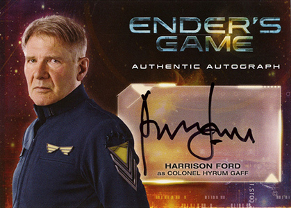 Harrison Ford Autograph Card Collecting Guide and Checklist 2