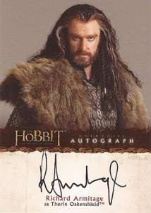 2014 Cryptozoic The Hobbit An Unexpected Journey Autographs A1