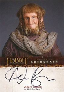 2014 Cryptozoic The Hobbit: An Unexpected Journey Autographs Guide 7