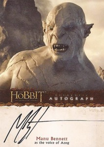 2014 Cryptozoic The Hobbit: An Unexpected Journey Autographs Guide 19