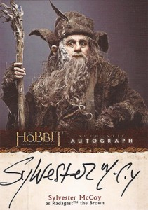 2014 Cryptozoic The Hobbit: An Unexpected Journey Autographs Guide 21