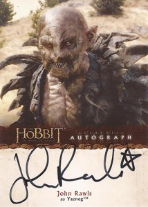 2014 Cryptozoic The Hobbit An Unexpected Journey Autographs A21
