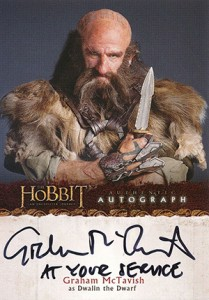 2014 Cryptozoic The Hobbit: An Unexpected Journey Autographs Guide 2