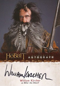 2014 Cryptozoic The Hobbit: An Unexpected Journey Autographs Guide 13