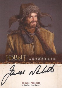 2014 Cryptozoic The Hobbit: An Unexpected Journey Autographs Guide 3