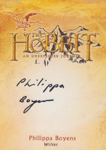 2014 Cryptozoic The Hobbit: An Unexpected Journey Autographs Guide 22