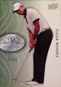2014 Upper Deck Exquisite Collection Golf Cards 21