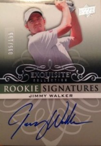 2014 Upper Deck Exquisite Collection Golf Cards 22