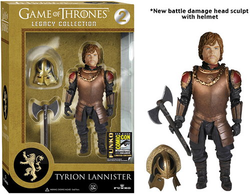 2014 Funko Game of Thrones Legacy Collection Tyrion Lannister SDCC