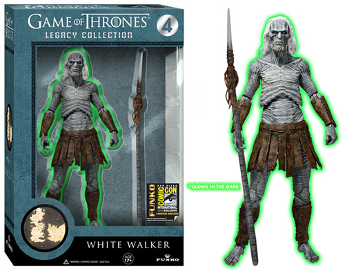 2014 Funko Game of Thrones Legacy Collection White Walker Glow in the Dark SDCC