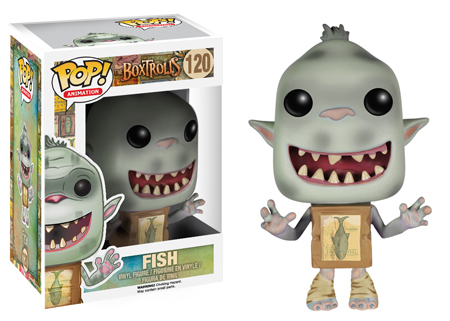 2014 Funko Pop Box Trolls Fish