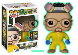 2014 Funko Pop Breaking Bad Glow in the Dark Walter White SDCC