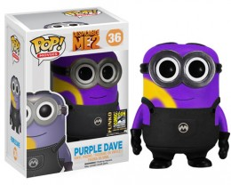 2014 Funko Pop Despicable Me 2 Purple Dave SDCC