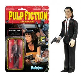 2014 Funko Pulp Fiction ReAction Bloody Vincent Vega SDCC