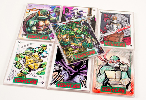 A Brief History of Teenage Mutant Ninja Turtles Trading Cards 15