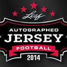 2014 Leaf Autographed Jersey Football