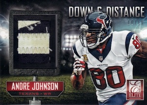 2014 Panini Elite Football Down Distance 4th
