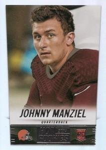 2014 Panini Hot Rookies Johnny Manziel RC #387