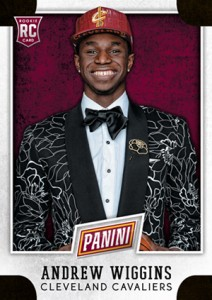 2014 Panini National VIP Andrew Wiggins