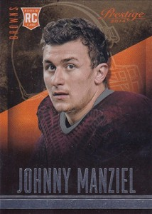 2014 Panini Prestige Football 253 Johnny Manziel