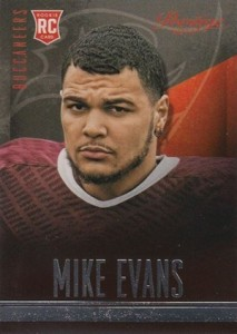 Mike Evans Visual Rookie Card Guide and Checklist 14