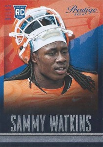 Sammy Watkins Rookie Card Guide and Checklist 40