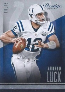 2014 Panini Prestige Football Base Andrew Luck
