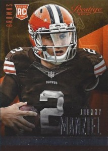 2014 Panini Prestige Football Base Rookie Johnny Manziel