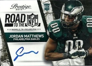 2014 Panini Prestige Football Road to the NFL Signatures
