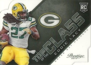2014 Panini Prestige Football Top of the Class Eddie Lacy