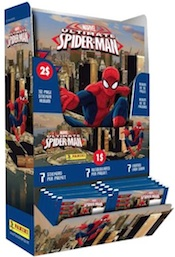 2014 Panini Ultimate Spider-Man Stickers Combo Box