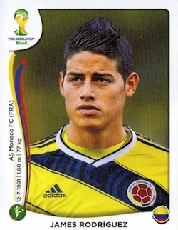 Top James Rodríguez Cards for All Budgets 4