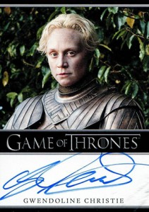 2014 Rittenhouse Game of Thrones Season 3 Autographs Gwendoline Christie