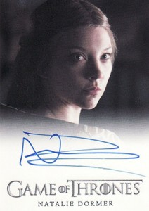 2014 Rittenhouse Game of Thrones Season 3 Autographs Natalie Dormer