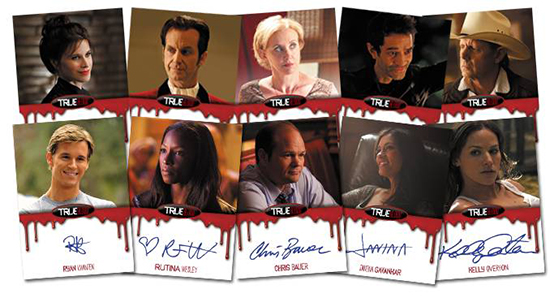 2014 Rittenhouse True Blood Collectors Set Autographs