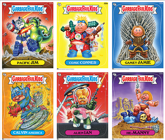 2014 SDCC Garbage Pail Kids Prints