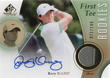 2014 SP Game Used Rory McIlroy RC