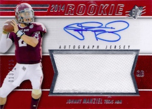 Johnny Manziel Cards, Rookie Cards, Key Early Cards and Autographed Memorabilia Guide 79
